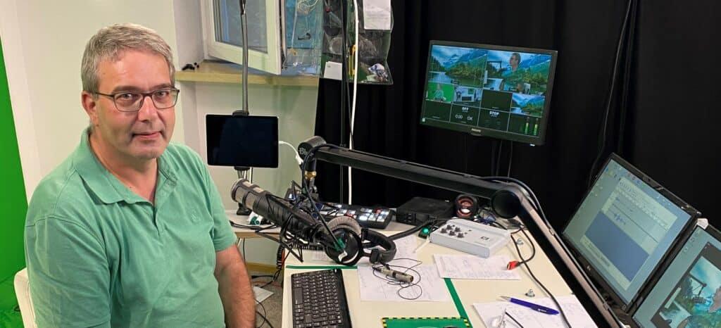 PMI DACH Manager Bodo Giegel im K8-Studio